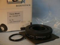 '       RODENSTOCK 55MM FOCUSING MOUNT -BOXED-MINT- ' Rodenstock APO Grandagon 55mm Focus Mount -BOXED-MINT- £149.99